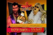 WWF Royal Rumble 1996 Razor Ramon vs Goldust Part 1