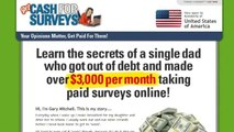 Get Cash For Surveys Review - make money from home