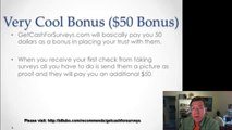 Get Cash For Surveys Review Make Money Filling Surveys2
