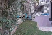 Ground floor Duplex for rent in Sarayat el maadi sharing swimming pool and privet garden privet entrance