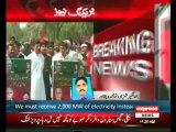 Load-shedding: K-P govt protesters break into WAPDA House in Peshawar