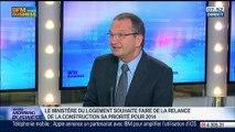 """""""Il faut relancer la contruction dans le domaine du bâtiment et du logement"""", Jacques Chanut, dans GMB – 16/07"""