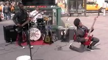 Young black kids playing Hard Rock music and just signed a record deal with sony!