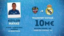 Officiel : Keylor Navas signe au Real Madrid !