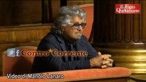 """Riforme,Grillo:""""Ci stiamo giocando la democrazia e la gente non ne ha percezione"""""""