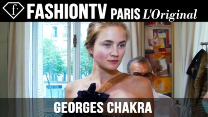 Georges Chakra Couture Fittings | Paris Couture Fashion Week Fall/Winter 2014-15 | FashionTV