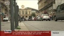 Travaux: ça va coincer rue Faidherbe! (Lille)