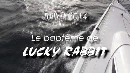 Baptême de LUCKY RABBIT