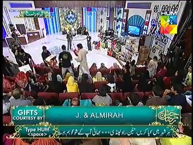 """Hayya Alal Falah Jashn e Ramazan Hum TV Show Part 2  """"16 July 2014"""""""