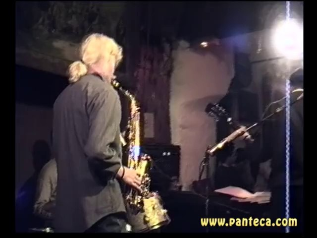 Una sera in panteca - (15/02/1991) - Jazz, Testa, sax