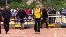 Première phase de poules division 1 masculine France Doubles, Sport Boules, Talant 2014