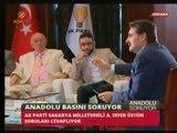 Ak Parti Sakarya Milletvekili Ayhan Sefer Üstün Anadolu Soruyor Programında Gündemi Değerlendiriyor