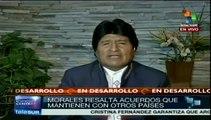 La presencia de Rusia en Sudamérica es una fortaleza: Evo Morales