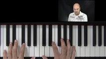 Klavier lernen - Jazz Piano für Anfänger - Dreiklänge am Klavier - Vierklänge am Klavier