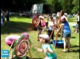 Festi'coccinelle : les enfants embarquent sur la planète musicale d'Aldebert