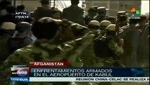 Afganistán: grupo talibán ataca aeropuerto de Kabul