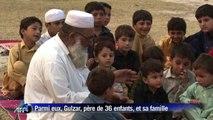 Pakistan: un père et ses 36 enfants parmi les déplacés