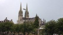 Orage au-dessus de la cathédrale