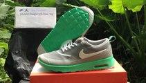 BuyShoesClothing.ru: Low Price Nike Air Max Thea Print Woman Light Gray Green Shoes