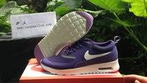 2014 New Nike Air Max Thea Print Woman Deep Purple Shoes @BuyShoesClothing.ru