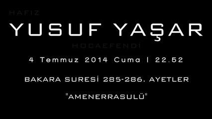 Yusuf Hoca Amenerrasulü