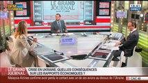 Pascale Joannin et et Benaouda Abdeddaïm, dans Le Grand Journal – 17/07 3/7