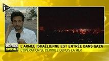 Gaza : Tsahal lance l'offensive terrestre