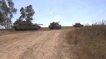 Israel launches ground offensive as Gazans bury their dead