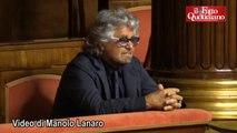 """Riforme, Grillo: """"Ci stiamo giocando la democrazia e la gente non ne ha percezione"""" - Il Fatto Quotidiano"""