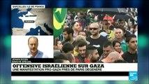 Incidents à Sarcelles après la manifestation pro-palestinienne interdite_(360p)