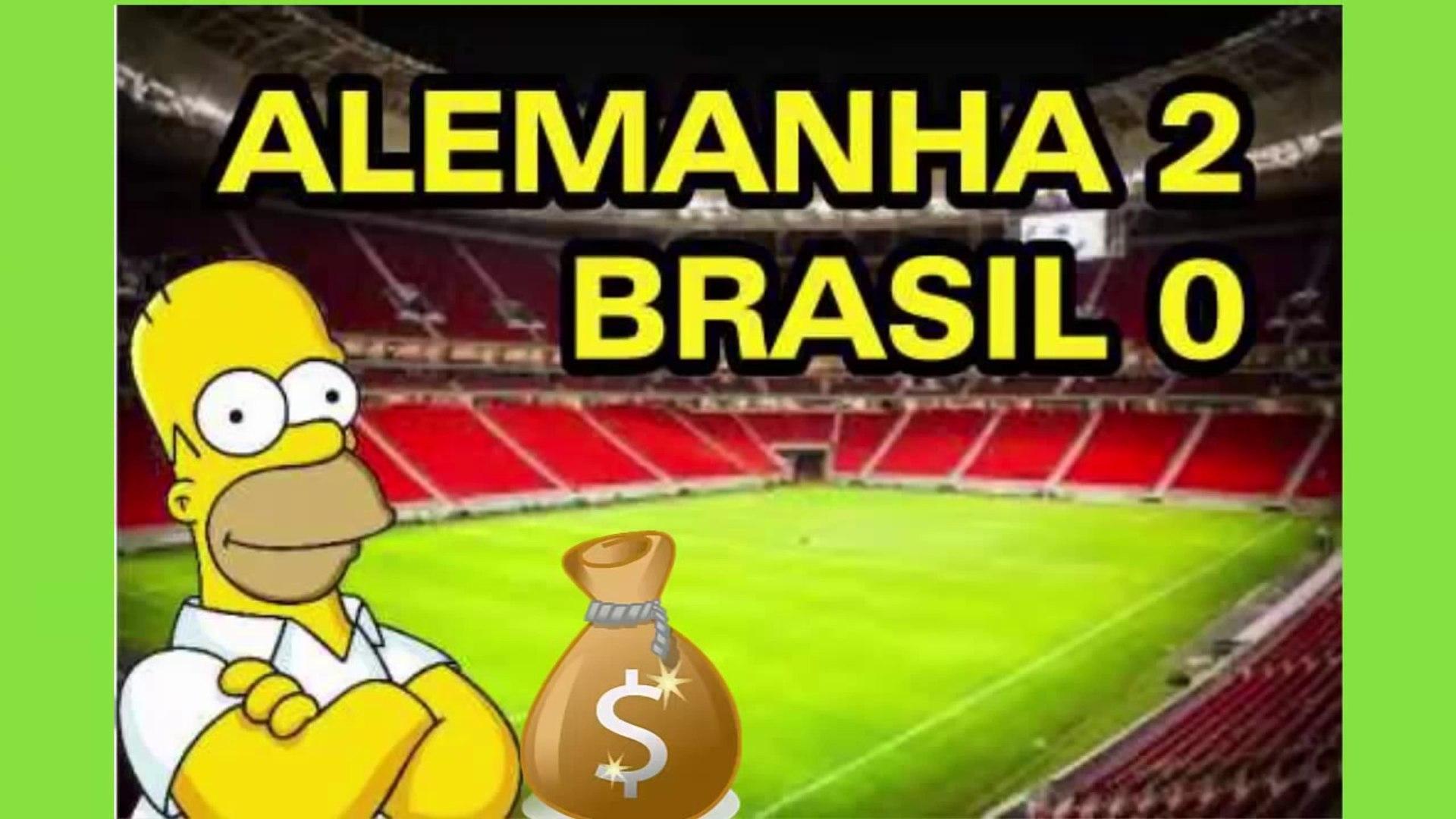 Episódio dos  Simpsons mostra a Máfia do apito nos jogos do Brasil e Alemanha