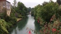 Pont d ossau oloron sainte Marie rivière