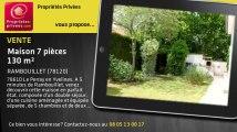 A vendre - maison - RAMBOUILLET (78120) - 7 pièces - 130m²