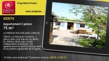 A vendre - appartement - LE PERRAY EN YVELINES (78610) - 3 pièces - 75m²
