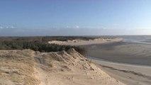 Baie d'Authie : érosion dunaire avec risque de submersion marine