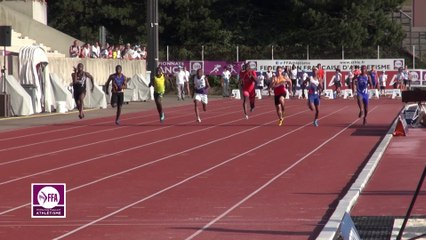 Finale 100 m Cadets