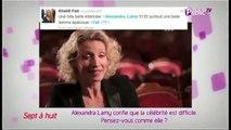 Public Zap : Alexandra Lamy confie que la célébrité est difficile. Pensez-vous comme elle ?