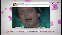 Public Zap : Fanny Leeb VS son père Michel Leeb : quel chanteur préférez-vous?