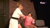 """Exclu vidéo : Cindy Lopes au théâtre : """"Je me trouve géniale. Je m'adore."""""""