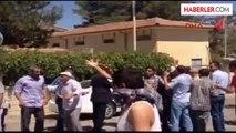 Midyat'ta Elektrik Kesintileri Protestosunda Dedaş Binası Taşlandı Ek