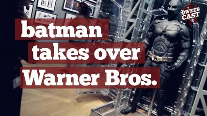 Batman Takes Over Warner Bros. VIP Tour | DweebCast | OraTV