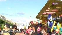 Exclu vidéo : Elodie Fregé s'est envoyée en l'air à la Kermesse aux étoiles !
