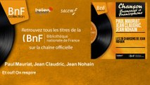 Paul Mauriat, Jean Claudric, Jean Nohain - Et ouf! On respire