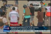 Muerte de niños palestinos por marina israelí indigna al mundo