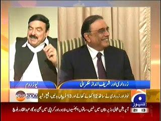 Sheikh Rasheed Views on PM Nawaz Sharif and Former President Asif Ali Zardari
