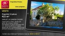 A vendre - propriété - SARLAT LA CANEDA (24200) - 13 pièces - 422m²