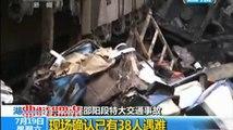 Çin'de katliam gibi kaza: Ölü sayısı 50'yi aşabilir I www.halkinhabercisi.com