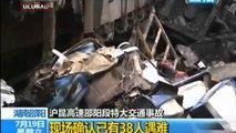 Çin'de katliam gibi kaza