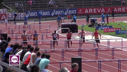 Finale 110 m haies Juniors