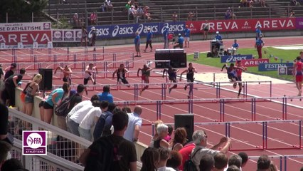 Finale 110 m haies Cadets